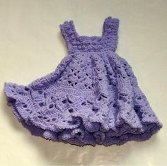 Why can't I crochet a dress like this for my baby princess? LOVE IT!!!!