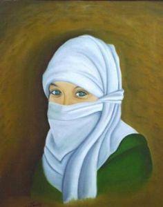 Capote: manto que cubre a las mujeres arabes -