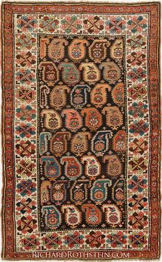 Antique Kazak Oriental Rug Size: x Wall Carpet, Rugs On Carpet, Persian Carpet, Persian Rug, Asian Rugs, Magic Carpet, Patterned Carpet, Carpet Design, Rugs