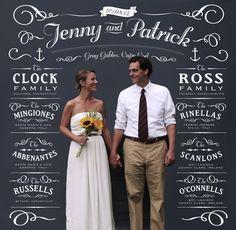 Wedding Photo Backdrop / Classic Design
