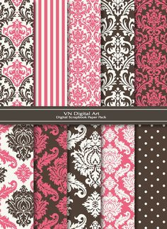 @Jenna Lopez here is some scrapbook paper in pink