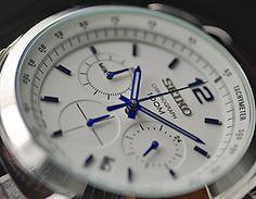 Amazon|[セイコー]SEIKO クロノグラフ 100m防水 本革ベルト メーカー純正箱入り SSB095P1 メンズ 腕時計 [並行輸入品]|国内ブランド 通販