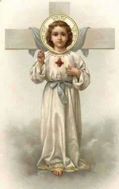 The Child Jesus and the Crucifix