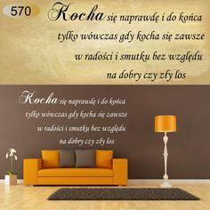 napisy cytaty naklejki na ścianę napis cytat 100 (6073783487) - Allegro.pl - Więcej niż aukcje. Home Decor, Decoration Home, Room Decor, Home Interior Design, Home Decoration, Interior Design