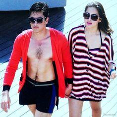 Cute Couples Goals, Couple Goals, Cutest Couples, Mark Prin, Ny Ny, Thai Drama, Sweet Couple, Celebs, Celebrities