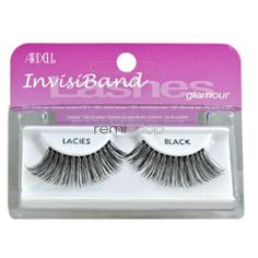 Ardell Glamour Lacies  - Color Black - Strip Glamour Style Eyelashes