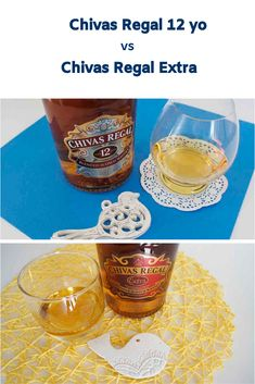 Side by Side: Chivas Regal 12 vs Chivas Extra whisky comparison