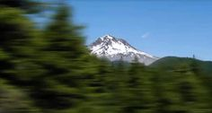 Driving around Mt. Hood