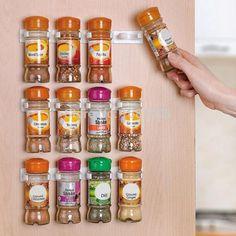 3Pcs Spice Shelf Organizer