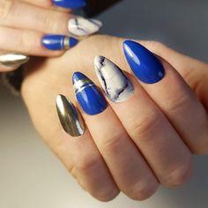 marble nails  by Joanna Stolar