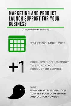 Marketing and Launch Support for Small Businesses, Freelancers, and Authors