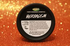 """Limpiador facial """"HERBALISM"""" de Lush   No os perdáis el #Haul de #Lush en mi blog!"""