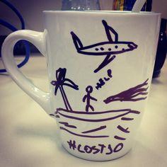 Tinha Café na ilha de Lost? Feliz dia da rolha! www.diariodebordo.net.br #cafe #mensagem #lost #lost10 #ilha #rolha