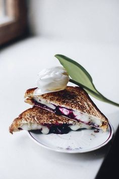 Grilled Goat Cheese with Fig Preserves 14 Fancy Grilled Cheese Recipes That Will Change Your Life on domino.com