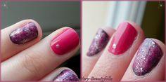 Pink Galaxy Nails !