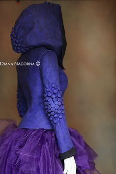 Felted Blue Jacket .Fashion jacket от DianaNagorna