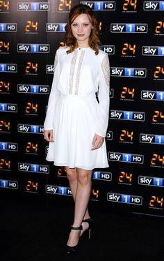 """Fabulously Spotted: Emily Berrington Wearing Alice by Temperley -""""24: Live Another Day""""  London Premiere - http://www.becauseiamfabulous.com/2014/05/emily-berrington-wearing-alice-by-temperley-24-live-another-day-london-premiere/"""