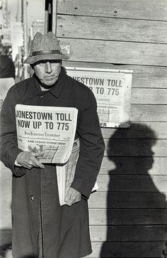 Jonestown Massacre Nov 18, 1978