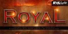 FREE Royal Text Effect By Koolgfx by KoolGfx.deviantart.com on @DeviantArt