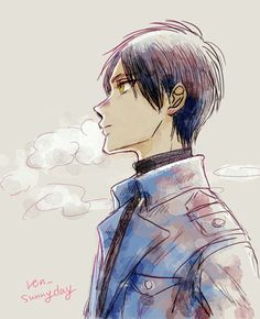 Hetalia - Bulgaria >>>> For a second I thought it was Eren from SNK