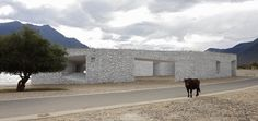 Niyang River Visitor Center - #Tibet #China - 2009 by standardarchitecture #white #architecture
