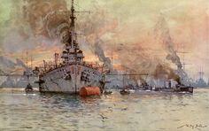 Willy Stöwer - Deutsche Schlachtschiffe
