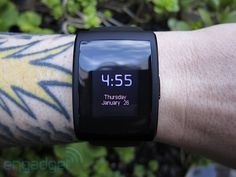 A smart watch would be awesome... for the person too lazy to reach into their pocket:S