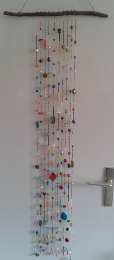 Beaded wall or window decoration / mobile by craftsbymischa, €75.00