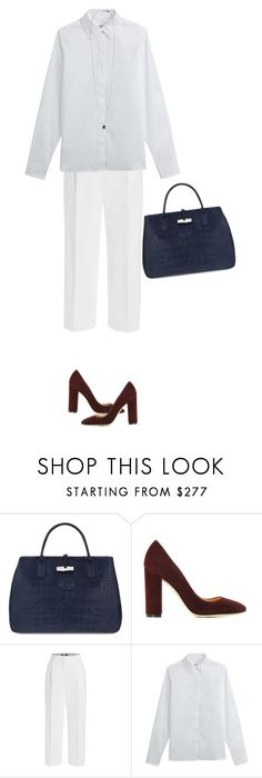 """""""🇱🇦"""" by payypayy ❤ liked on Polyvore featuring Longchamp, Gianvito Rossi, MSGM and Maison Margiela"""