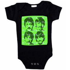 beatles baby clothes - my stepdad would love