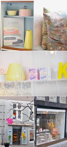 Adorable boutique à Copenhague