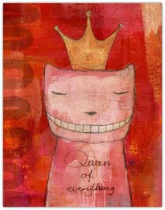 Print  - Queen of everything