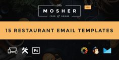 Mosher - Food & Drink Email Template   Builder Access by JeetuG Are you looking for PSD to High quality Responsive HTML Email Coding services? We¡¯re now available on Envato Studio.We at theem¡¯on convert your PSD into beautiful HTML email template making them high quality responsive email with