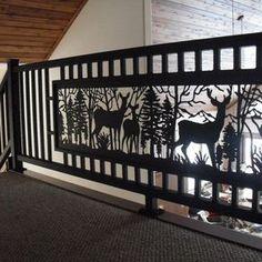 Best Deer Cast Iron Panel At Menards Log Homes And Decor 640 x 480