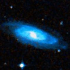 DSS image of spiral galaxy NGC 1558