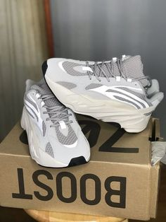adidas Yeezy Boost 700 Atheletic Shoes for Men, Size 10 - Static for sale online Cute Sneakers, Shoes Sneakers, Trendy Shoes, Casual Shoes, Shoes Style, Yeezy Outfit, Aesthetic Shoes, Fresh Shoes, Hype Shoes