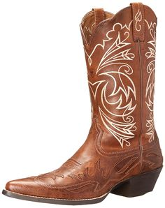 Ariat Women's Heritage Western J Toe Wingtip Fashion Boot -- You can get additional details at the image link.