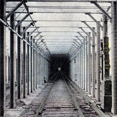 1920s-1930s subway tunnel--NYC