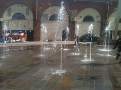 What cool fountains