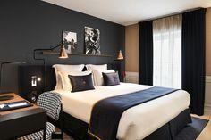home decor contemporary bedroom Bedroom Setup, Home Decor Bedroom, Modern Bedroom, Guy Bedroom, Bachelor Bedroom, Bedroom Artwork, Contemporary Bedroom, Room Interior, Interior Design Living Room