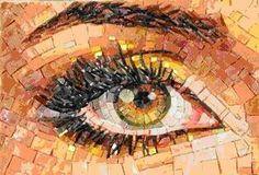 Gali Segev. Mosaic eye..amazing!