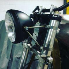 Stainless steel headlight bracket
