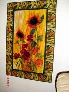 Sunflower Quilt, by Tina Aguilar Colon