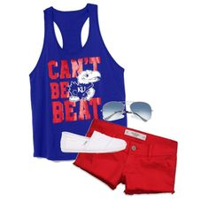 """KANSAS JAYHAWKS(:"" by whitneyway on Polyvore"