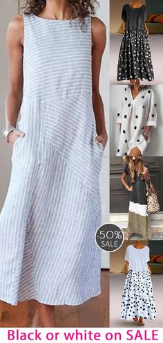 Womens casual maxi dress now OFF. India Fashion, Fashion 2020, Indie Mode, Baby Cardigan Knitting Pattern, Over 50 Womens Fashion, Fashion Sewing, Linen Dresses, Fashion Dresses, Cute Outfits