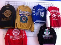 Divine Nine fraternity and sorority jackets
