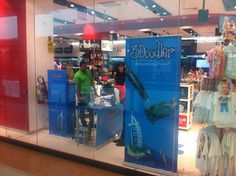 Launch in Virgin Al Wahda. The #3Doodler ready for inspiration and creativity now in Abu Dhabi too!