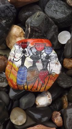 African Collection of my painted rocks https://www.facebook.com/pages/The-Stunner-Boutique/456809484484281