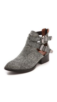 cut-out booties #botines #zapatosmujer