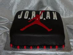 My air Jordan cake Kimmis Cakes Pinterest Air jordan Cake